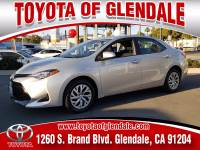 Used 2018 Toyota Corolla for Sale at Dealer Near Me Los Angeles Burbank Glendale CA Toyota of Glendale | VIN: 5YFBURHE9JP832722