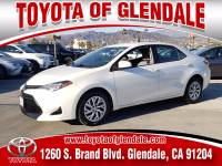 Used 2018 Toyota Corolla for Sale at Dealer Near Me Los Angeles Burbank Glendale CA Toyota of Glendale | VIN: 5YFBURHE8JP775185