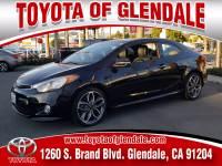 Used 2015 Kia Forte Koup for Sale at Dealer Near Me Los Angeles Burbank Glendale CA Toyota of Glendale | VIN: KNAFZ6A31F5267202