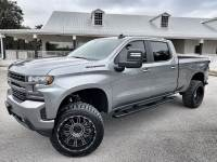Used 2021 Chevrolet Silverado 1500 RST SATIN STEEL LIFTED LEATHER CREW CAB 4X4 V8