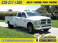 2011 DODGE RAM 3500 HD CHASSIS