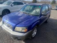 Used 2003 Subaru Forester For Sale at Harper Maserati | VIN: JF1SG65663H724341