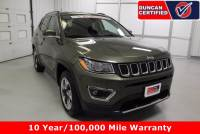 Used 2017 Jeep New Compass For Sale at Duncan Hyundai | VIN: 3C4NJDCB3HT616801
