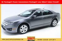 Used 2010 Ford Fusion SE Sedan For Sale in Bedford, OH