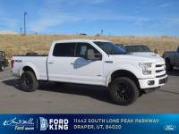 2016 Ford F-150 Lariat Truck SuperCrew Cab V-6 cyl