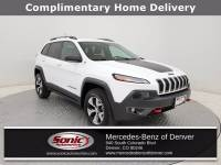 Pre-Owned 2016 Jeep Cherokee Trailhawk 4x4 SUV in Denver