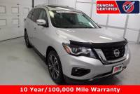 Used 2017 Nissan Pathfinder For Sale at Duncan Hyundai | VIN: 5N1DR2MM8HC636638