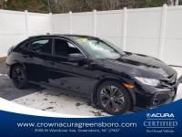 Pre-Owned 2017 Honda Civic Hatchback EX in Greensboro NC