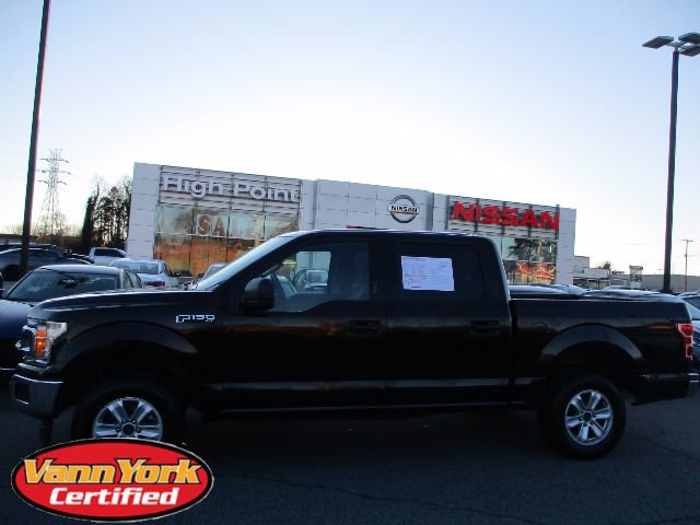 Photo Used 2018 Ford F-150 XLT Pickup For Sale in High-Point, NC near Greensboro and Winston Salem, NC