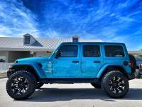 Used 2020 Jeep Wrangler Unlimited BIKINI TURBO SAHARA CUSTOM LIFTED LEATHER