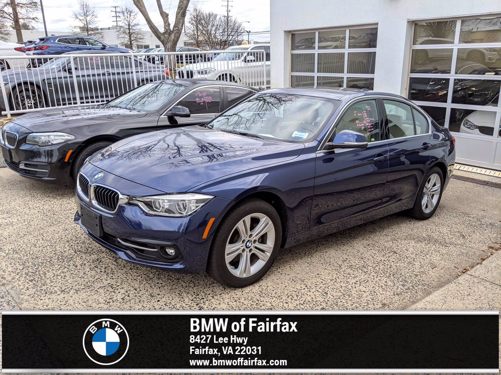 Photo Certified Used 2018 BMW 3 Series Sedan in Fairfax, VA