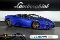 Used 2020 Lamborghini Huracan EVO Spyder For Sale Richardson,TX | Stock# L1319 VIN: ZHWUT4ZF2LLA12820