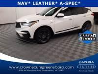 Certified 2019 Acura RDX w/A-Spec Pkg in Greensboro NC