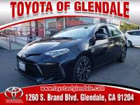 Used 2018 Toyota Corolla for Sale at Dealer Near Me Los Angeles Burbank Glendale CA Toyota of Glendale | VIN: 2T1BURHEXJC986386