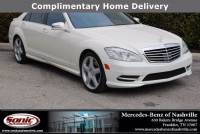 2013 Mercedes-Benz S-Class S 550 in Franklin