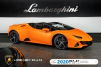 Used 2020 Lamborghini Huracan EVO Spyder For Sale Richardson,TX | Stock# LT1418 VIN: ZHWUT4ZF9LLA13706