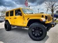 Used 2020 Jeep Wrangler Unlimited HELLA YELLA TURBO SAHARA LEATHER HARDTOP