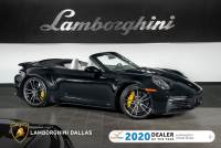 Used 2021 Porsche 911 Turbo S Cabriolet For Sale Richardson,TX | Stock# 21L0367A VIN: WP0CD2A92MS263272