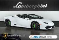 Used 2018 Lamborghini Huracan LP610-4 Spyder For Sale Richardson,TX | Stock# L1324 VIN: ZHWUR1ZF9JLA09424