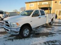 Used 2016 Ram 3500HD 4x4 Crew-Cab Service Utility Truck