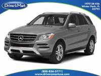 Used 2014 Mercedes-Benz M-Class ML 350 BlueTEC 4MATIC For Sale in Orlando, FL (With Photos) | Vin: 4JGDA2EB2EA320695