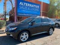2011 Lexus RX 450h 3 MONTH/3,000 MILE NATIONAL POWERTRAIN WARRANTY