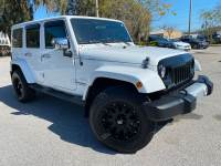 Used 2011 Jeep Wrangler Unlimited SAHARA HARDTOP XD WHEELS CARFAX CERT