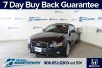 Used 2011 Audi A5 For Sale in Hackettstown, NJ at Honda of Hackettstown Near Dover | WAULFAFH2BN003726