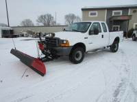 Used 2001 Ford F-350 4x4 Ex-Cab Pickup/Plow