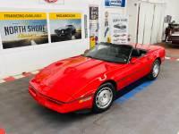 1986 Chevrolet Corvette - CONVERTIBLE - 6,640 ORIGINAL MILES - SEE VIDEO