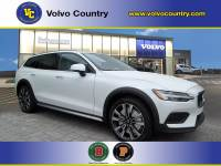 Used 2020 Volvo V60 Cross Country T5 in Crystal White Pearl Metallic For Sale in Somerville NJ   120052