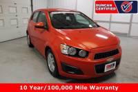 Used 2012 Chevrolet Sonic For Sale at Duncan's Hokie Honda | VIN: 1G1JD6SBXC4186954