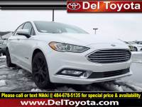 Used 2018 Ford Fusion Hybrid SE For Sale in Thorndale, PA   Near West Chester, Malvern, Coatesville, & Downingtown, PA   VIN: 3FA6P0LU0JR247854