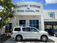 2006 INFINITI QX56 1 owner, navigation, leather, sunroof, 8 passenger, 3rd row seat