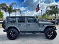 Used 2020 Jeep Wrangler Unlimited CUSTOM LIFTED LEATHER AND STINGRAY LEATHER NAV