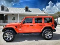Used 2020 Jeep Wrangler Unlimited CUSTOM LIFTED TURBO SAHARA LEATHER NAV HARDTOP