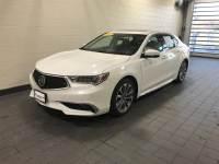 Bellanova White Pearl Used 2018 Acura TLX 3.5L FWD w/Advance Pkg For Sale in Moline IL   S21637A
