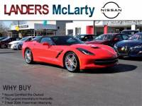Used 2014 Chevrolet Corvette Stingray Z51 2LT Convertible