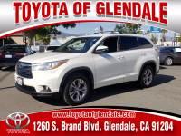 Used 2016 Toyota Highlander for Sale at Dealer Near Me Los Angeles Burbank Glendale CA Toyota of Glendale | VIN: 5TDZKRFH5GS133749