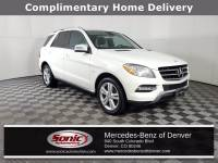 Pre-Owned 2012 Mercedes-Benz M-Class ML 350 4MATIC SUV in Denver