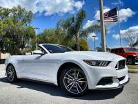 Used 2017 Ford Mustang CONVERTIBLE PREMIUM ECOBOOST CARFAX CERT