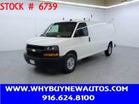 2018 Chevrolet Express 2500 ~ Ladder Rack & Shelves ~ Extended Length ~ Only 42K Miles!