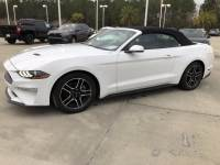 Used 2018 Ford Mustang EcoBoost CONVERTIBLE Convertible