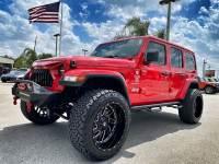 Used 2020 Jeep Wrangler Unlimited CUSTOM LIFTED TURBO SAHARA NAV ALPINE OCD4X4