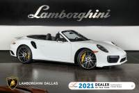 Used 2019 Porsche 911 Turbo S Cabriolet For Sale Richardson,TX | Stock# LT1432 VIN: WP0CD2A99KS144583