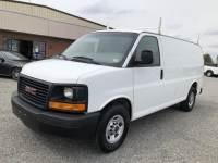 2016 GMC Savana / Express 2500 Cargo Van w/ Bin Pkg & Ladder Rack
