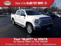 Used 2014 Toyota Tundra 4WD CrewMax Short Bed 5.7L FFV Limited