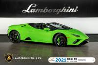 Used 2020 Lamborghini Huracan EVO-2 Spyder For Sale Richardson,TX | Stock# LC692 VIN: ZHWUT5ZF2LLA15044