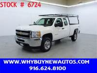 2013 Chevrolet Silverado 2500HD ~ 4x4 ~ Extended Cab ~ Only 63K Miles!