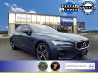 Certified Used 2019 Volvo S60 T6 R-Design in Denim Blue For Sale in Somerville NJ | SP0311